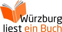 """Logo """"Würzburg liest ein Buch"""" 200 x 105"""